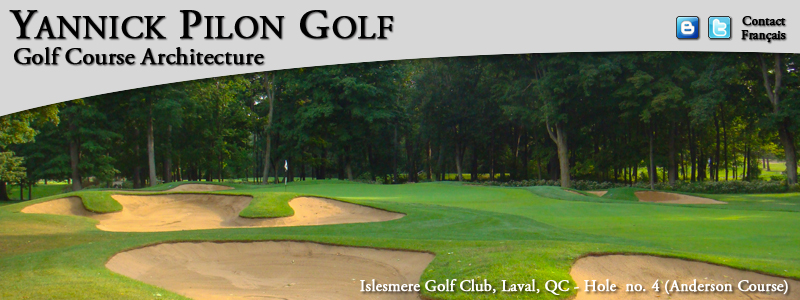 Club de Golf Islesmere, Laval, QC - Hole no. 4 (Anderson Course)