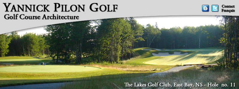 The Lakes Golf Club, East Bay, NS - Hole no. 11